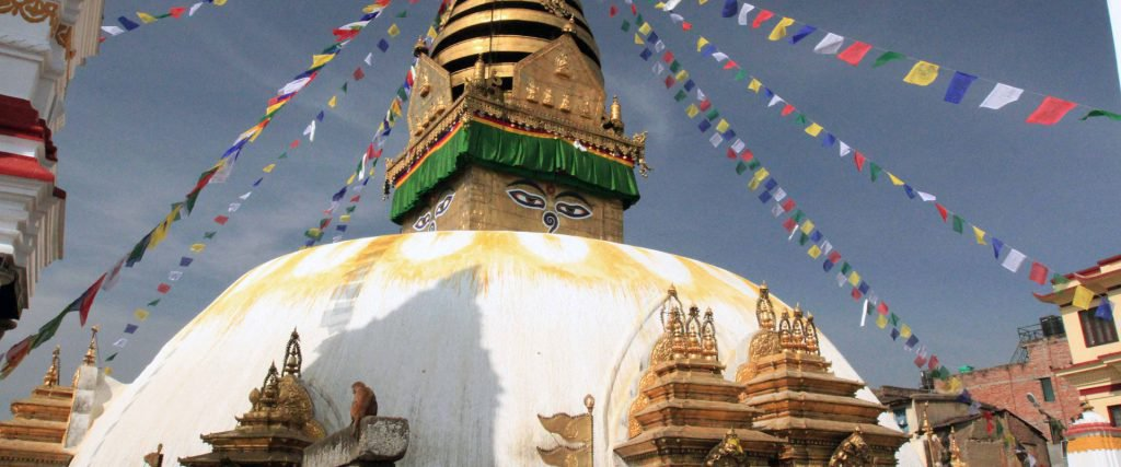 Swyambhunath Stupa Main View