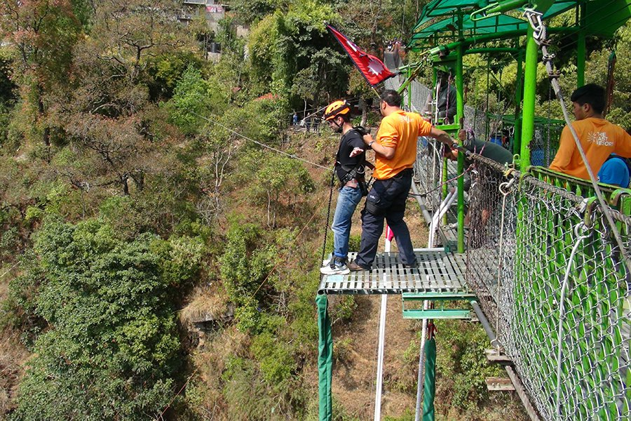 #Bungy-Jumping-in-Nepal