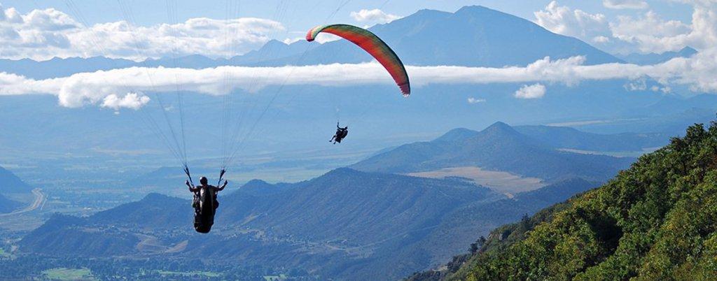 Paragliding in dharan