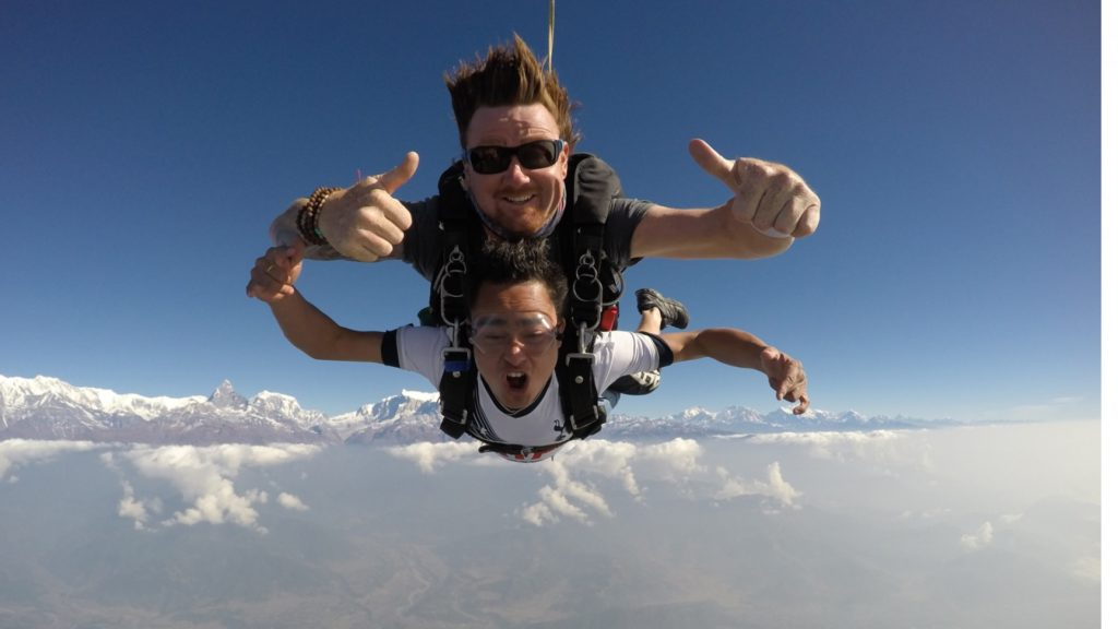 skydiving--adventure