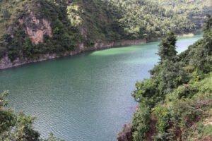Top View of lake