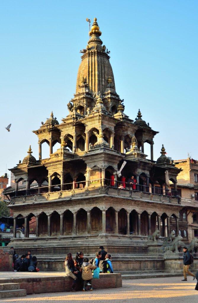 Shikhar Style Temple