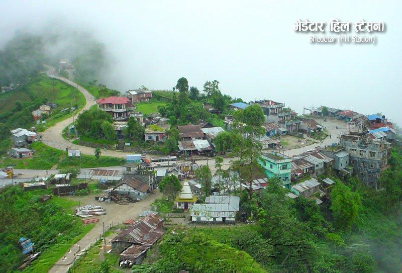 Beautiful Bhedetar Hill Station