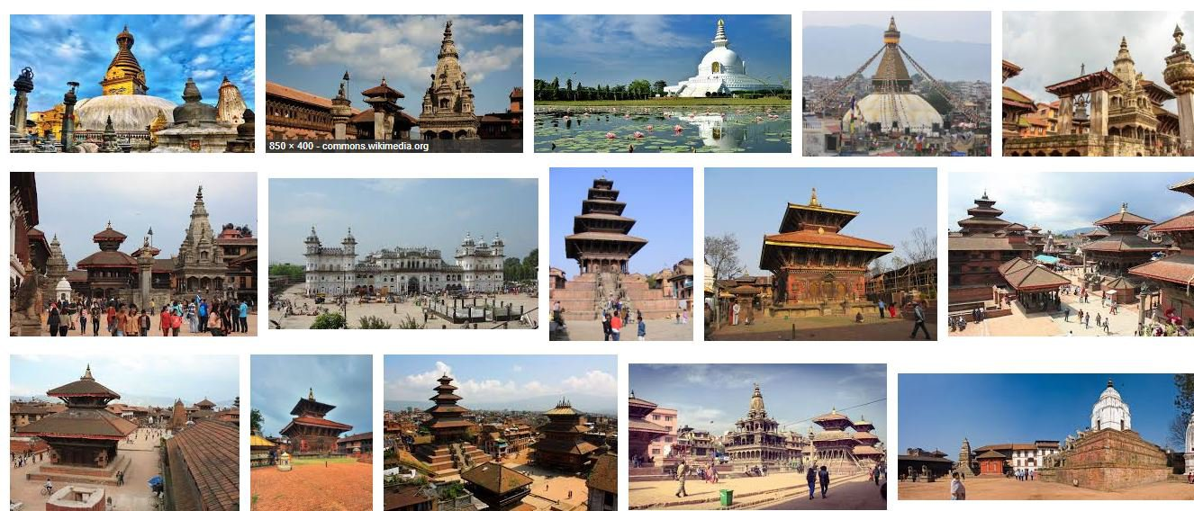 world heritage sites of nepal