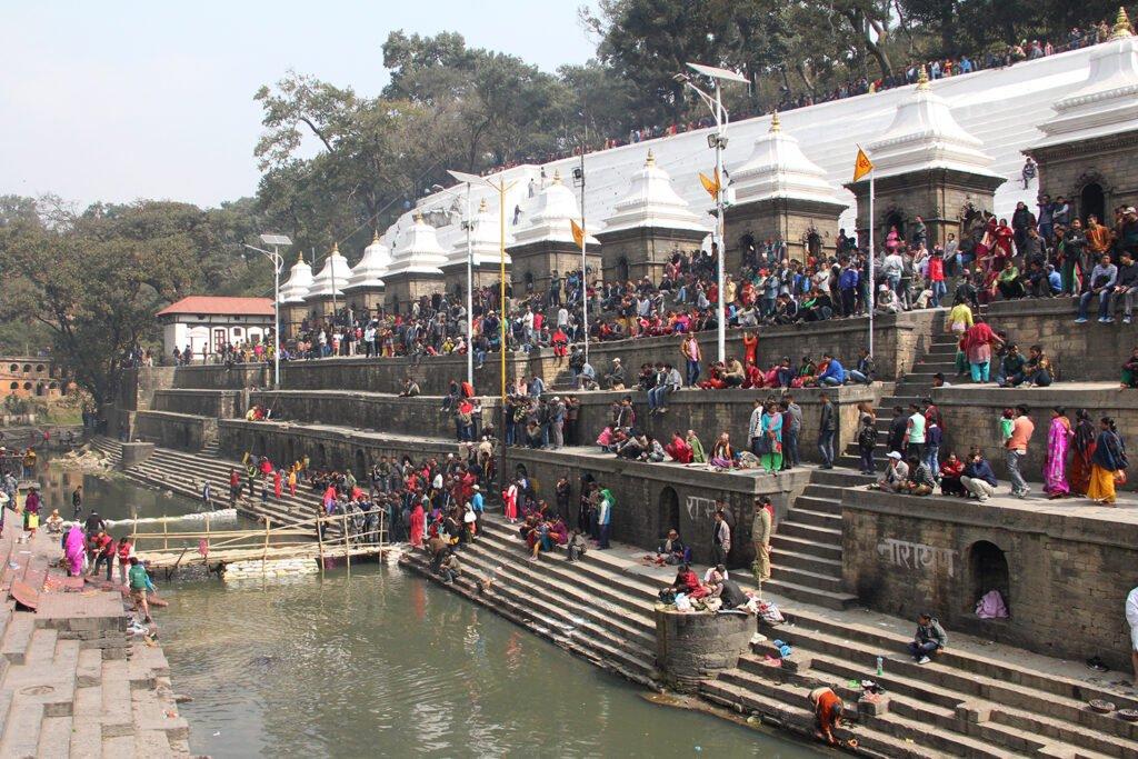 Pashupatinath during shivaratri