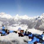 skydiving in Mt. Everest