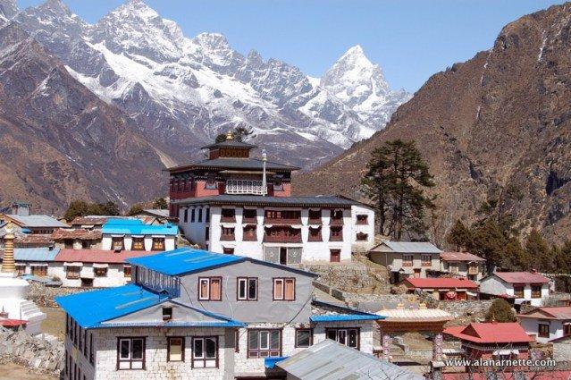 #Tengboche Monastry #wondersofnepal