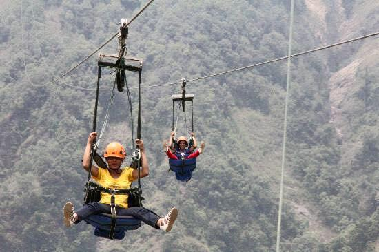zip flying in pokhara