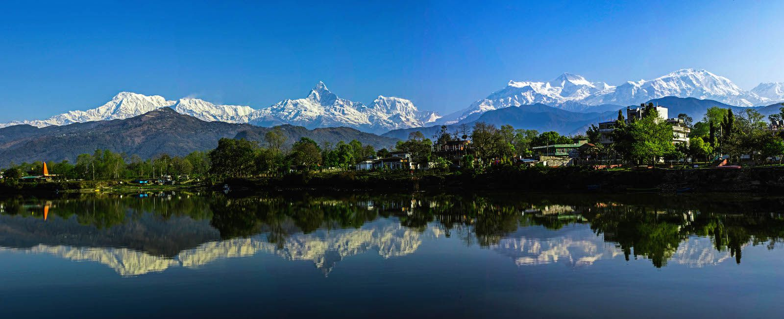 Fewa Lake, Wonders of Nepal