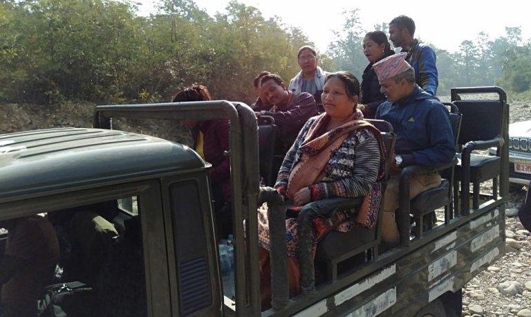 Banke National park - jungle safari