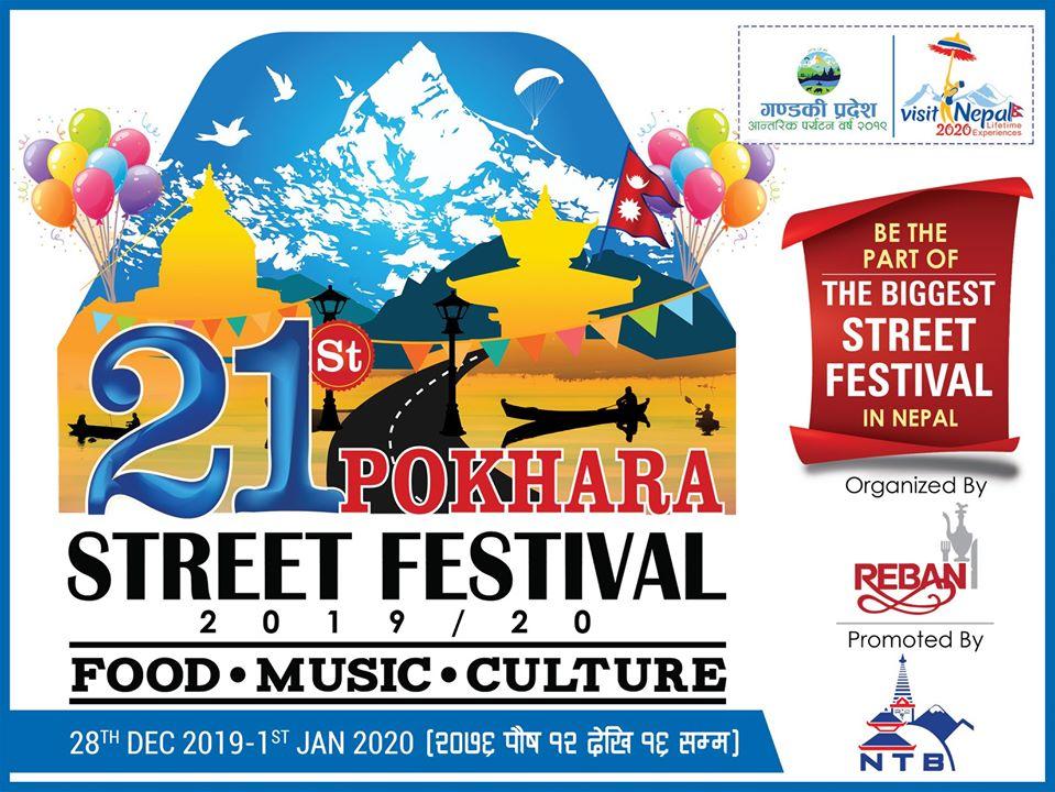 pokhara street festial