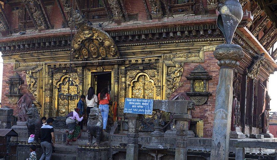 Changu Narayan main Temple