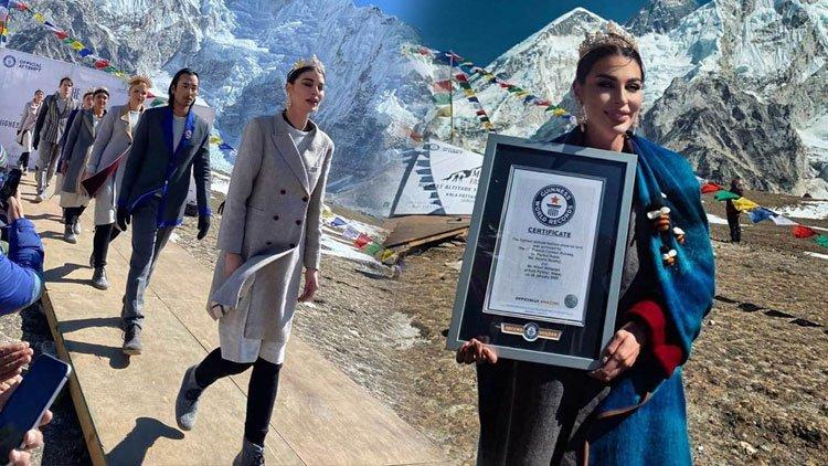Mt Everest Fashion Runway