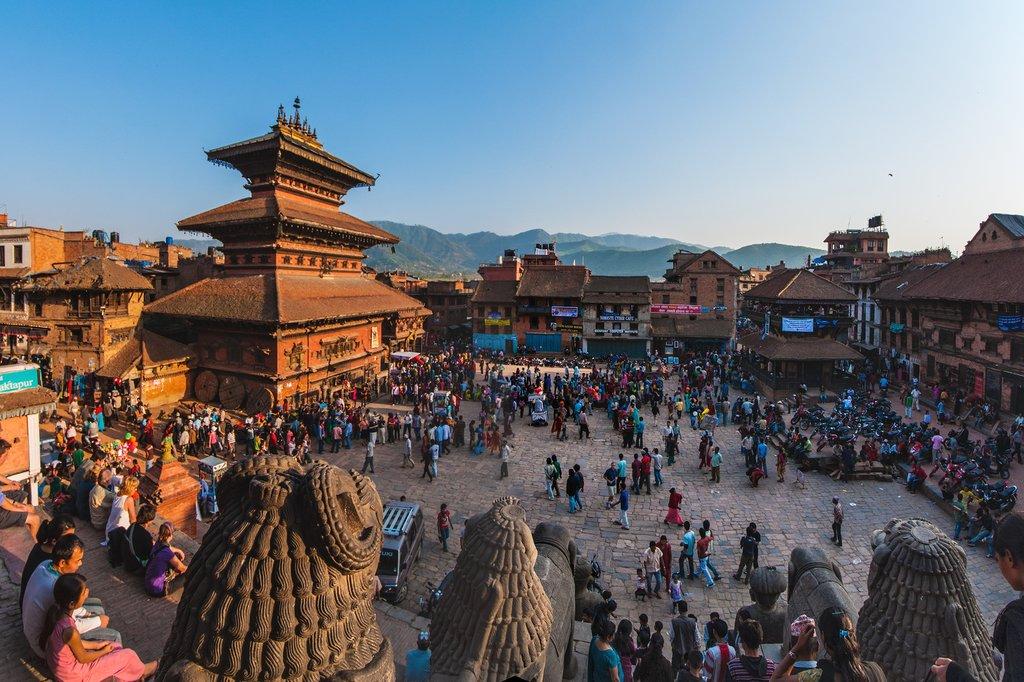 Bhaktapur city