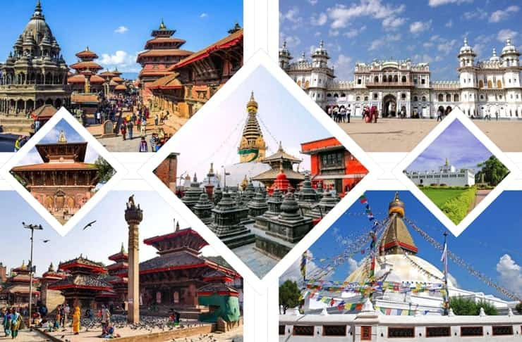 Major Tourism Sites of Nepal