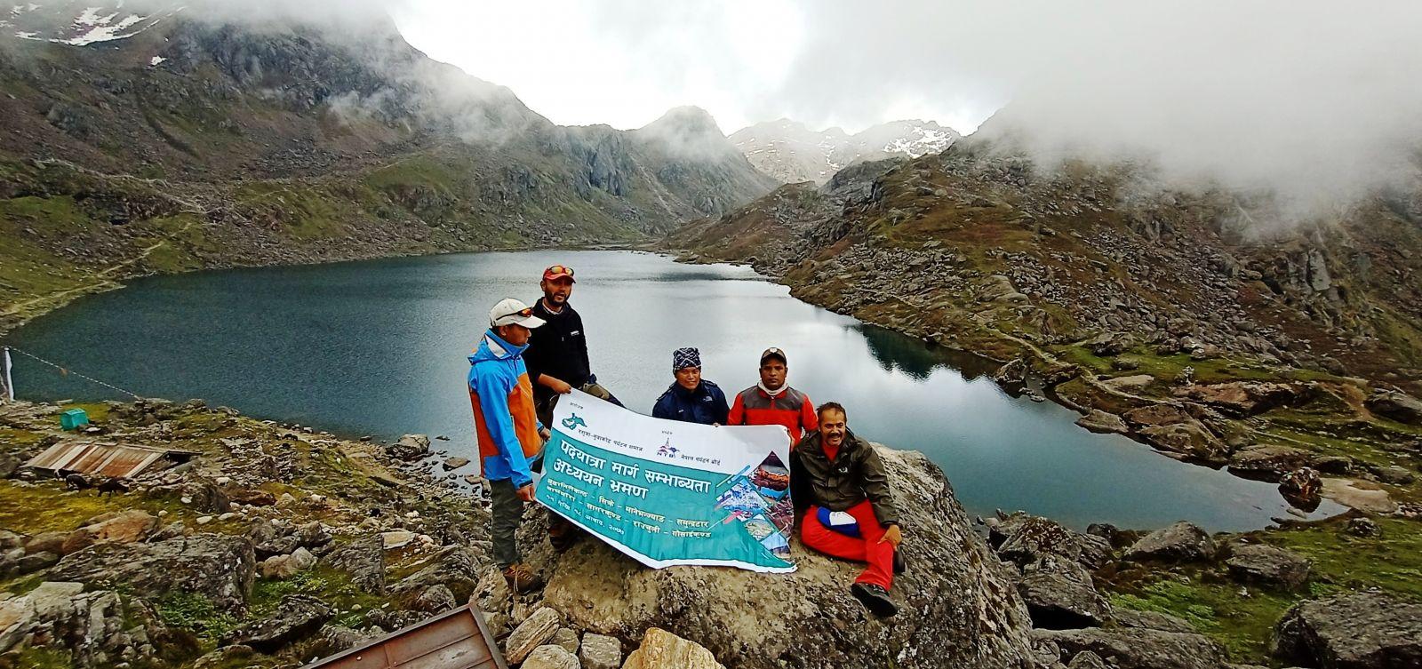 Budhanilkantha-Rauchuli-Gosaikunda Footpath for trek
