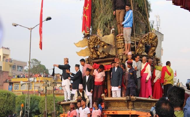 Rato Matsyendranath's Chariot ride
