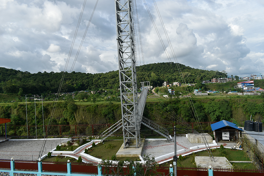 New Bungy Jump in Pokhara