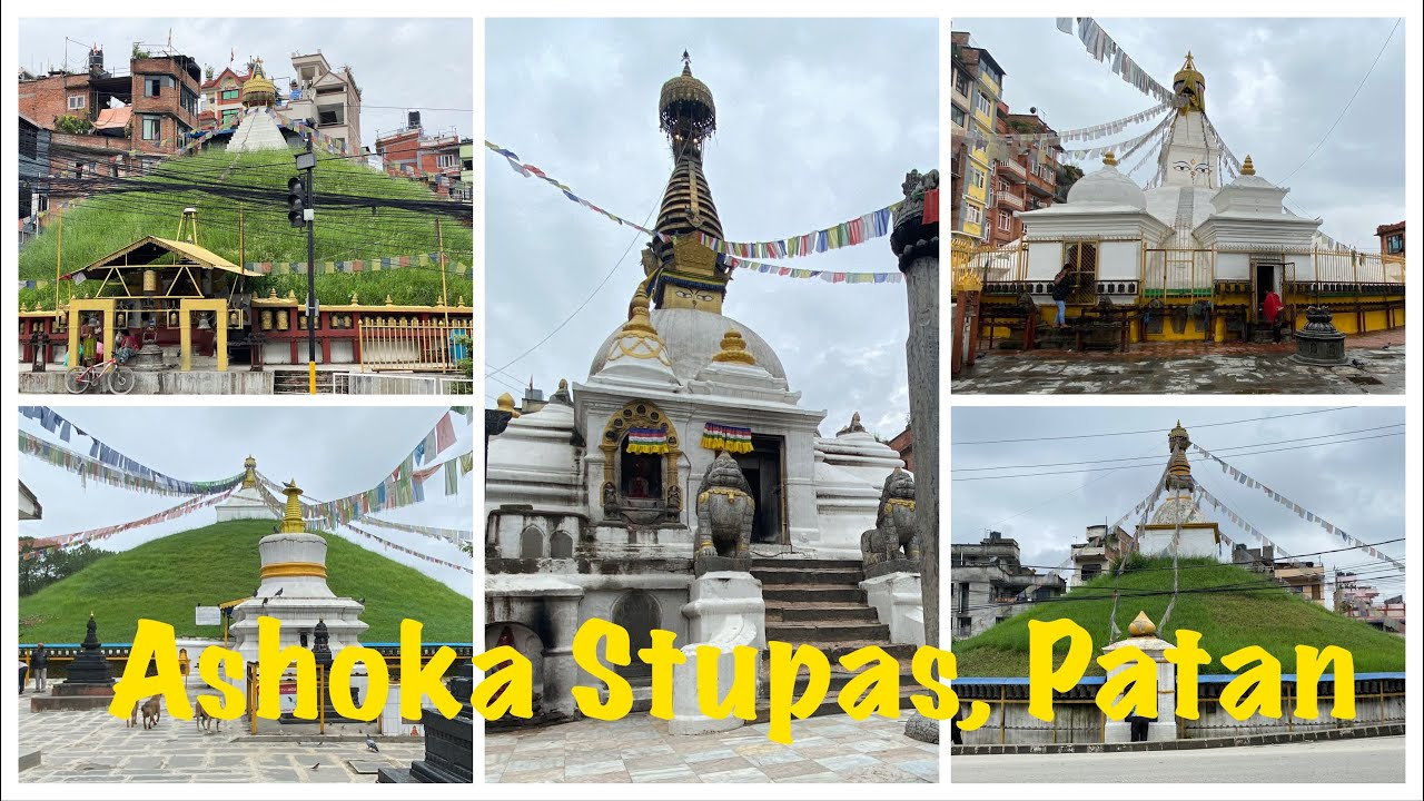 Ashoka Stupas
