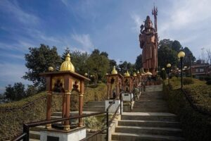 Kailashnath Mahadev Statue Temple sanga