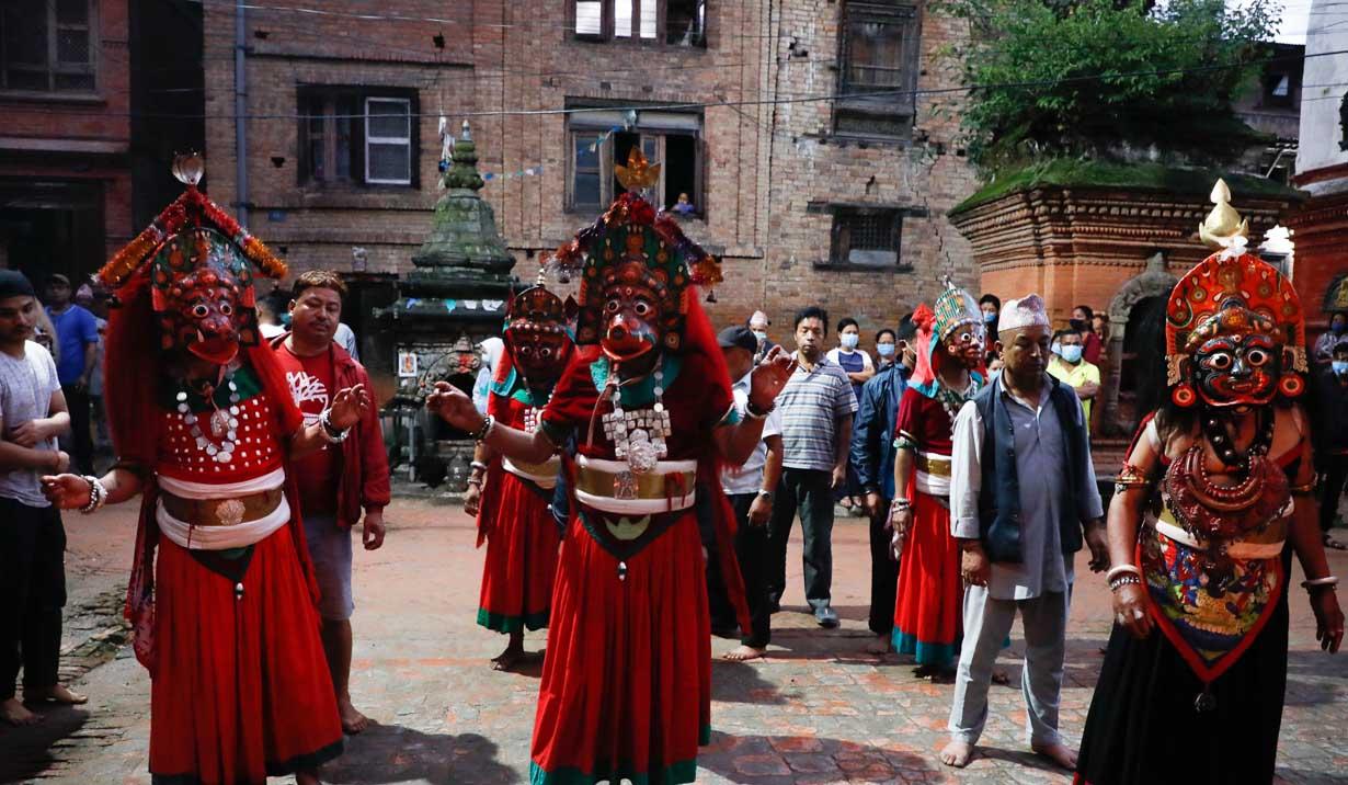 Nilbarahi dance Bhaktapur