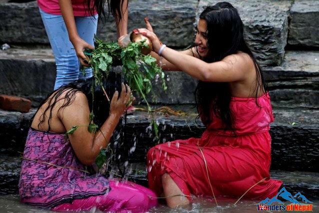 Rishi Panchami bath