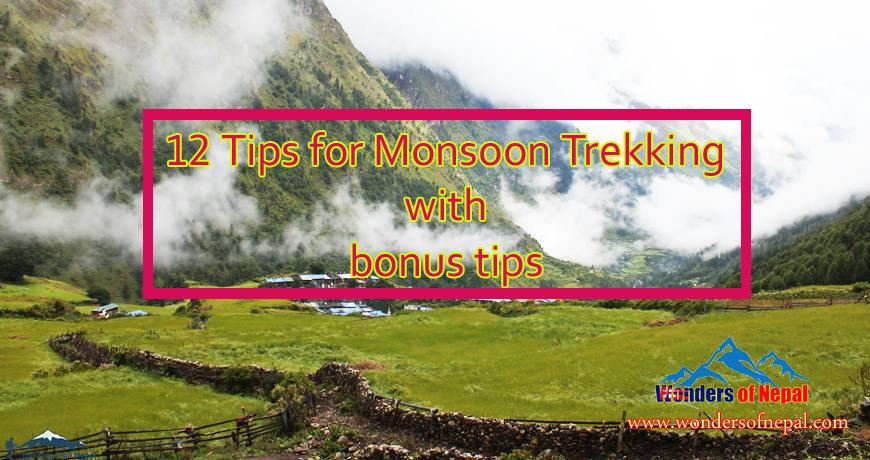 Tips for Monsoon Trekking