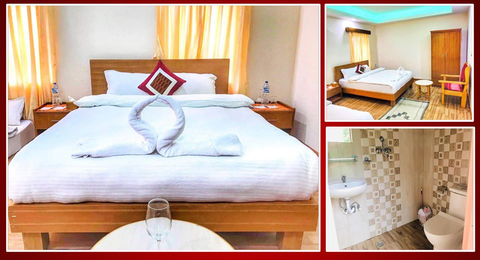 hotels in Chitlang-chitlang resort room