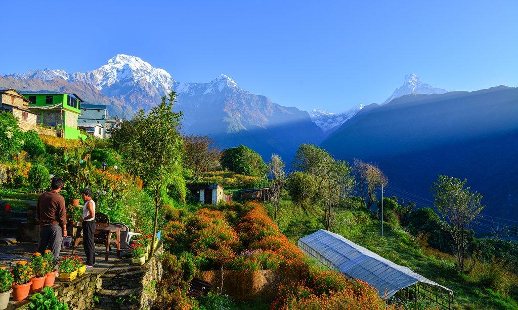 Beautiful Ghandruk Village