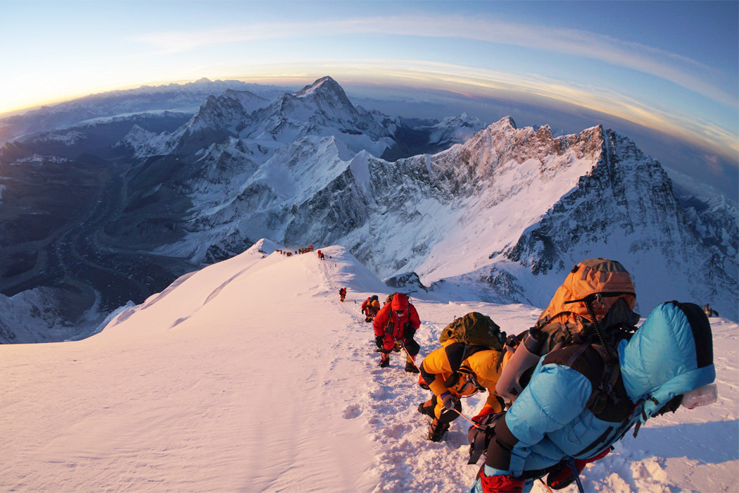 Mount Everest expeditions from Nepal
