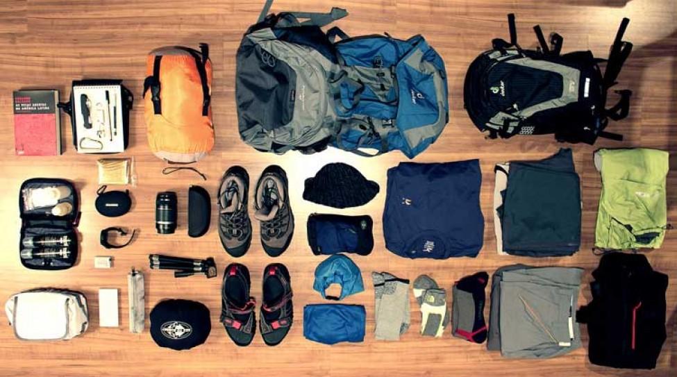Backpack for trekking