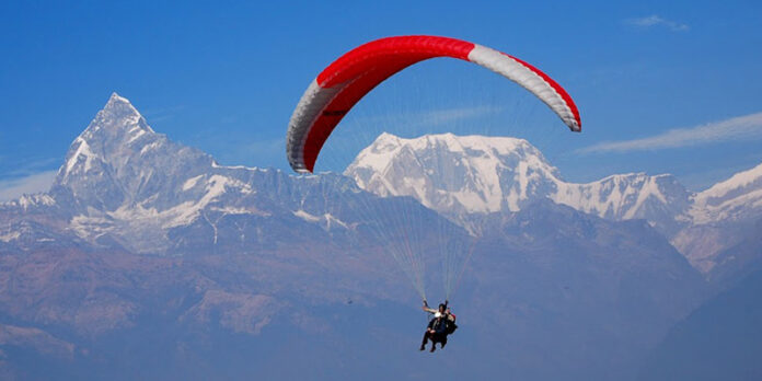 Paragliding training started in Pokhara