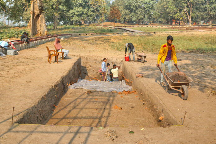 Excavations in Tilaurakot