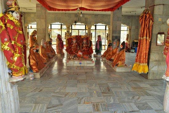 Inside Vivaha Mandap Temple