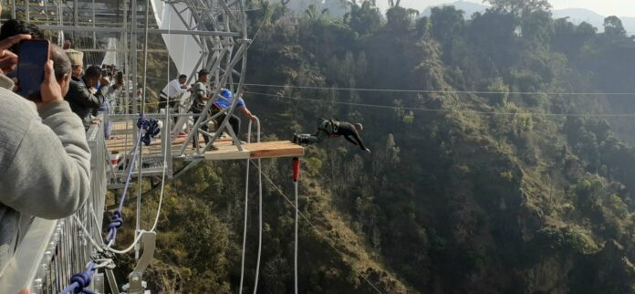 second highest bungee jumping