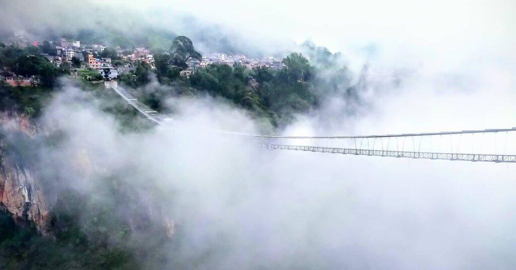 Suspension Bridge for Bungee in Kushma