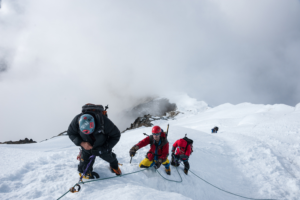 Mt. Lobuche peak climbing difficulties