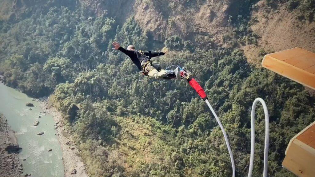Bungee Jump in Kushma