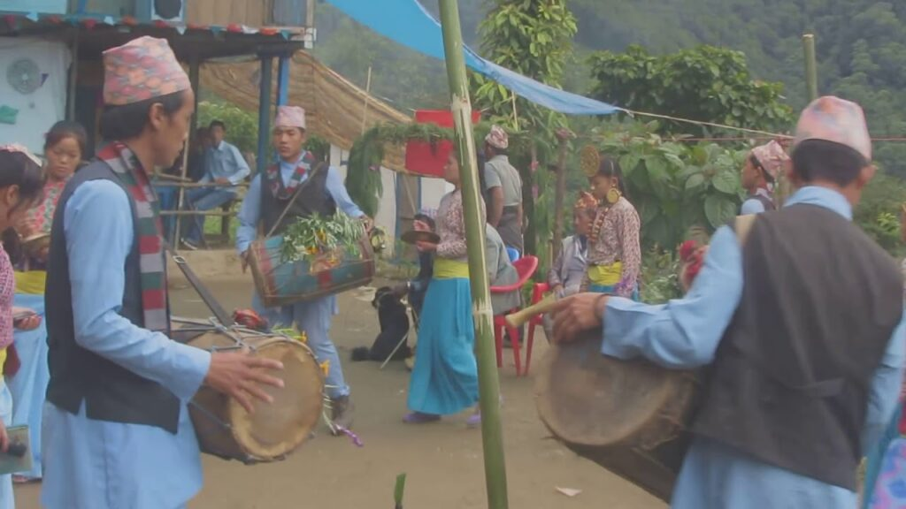 Limbu Weeding dance