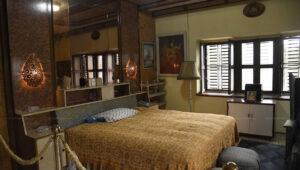 Ex King Birendra's bed room, Shree Sadan
