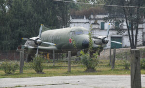 Plane used for Royal Family's travel.