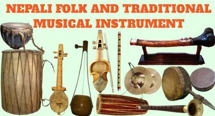 Nepali-Folk-and-Traditional-Musical-Instruments