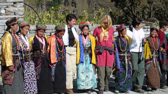 Cultural program in Langtang