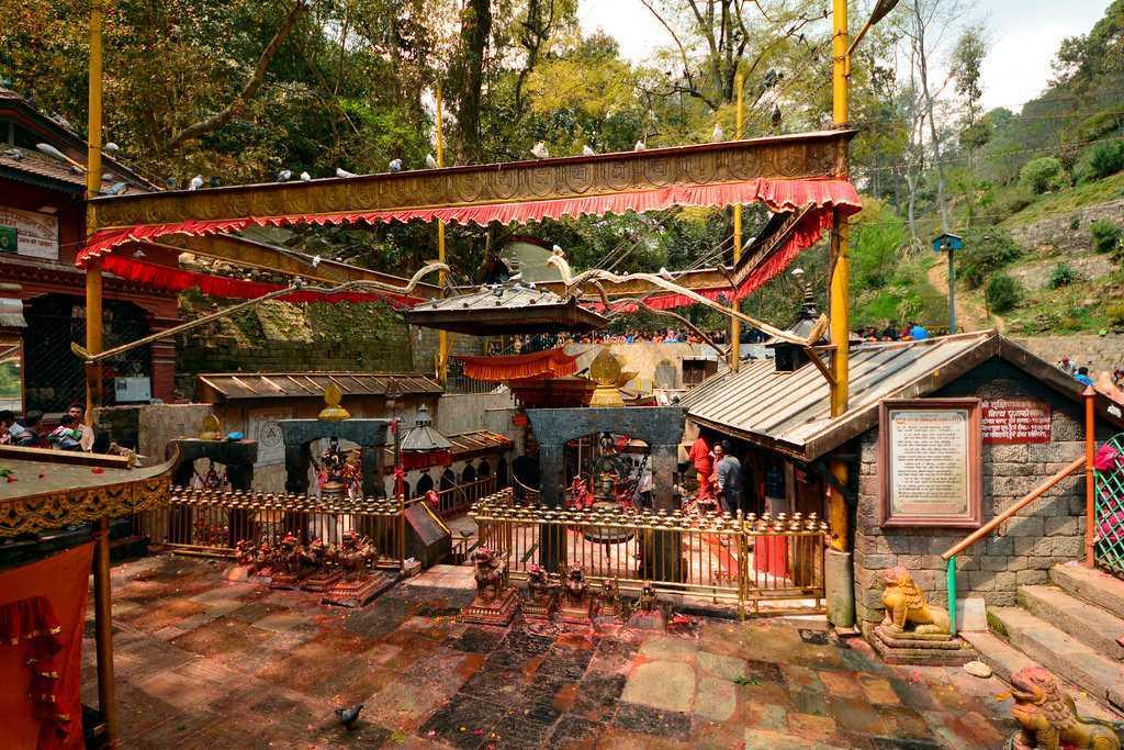 Dakshinkali Temple in Nepal