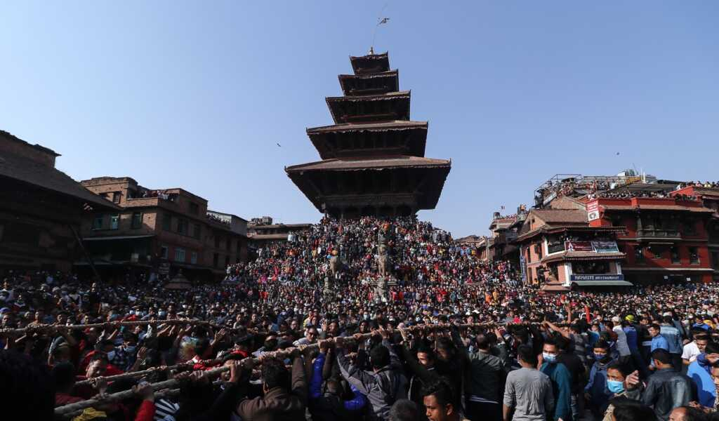 Bisket jatra in photo