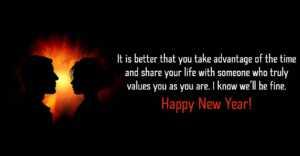 Romantic New Year Wish