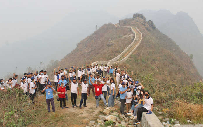 Bandipur's Mini Great Wall attracts domestic tourists