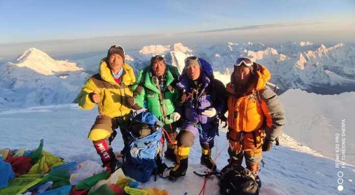 Kami Rita Sherpa back to Everest base camp