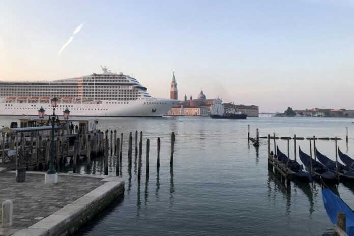 Cruise ships restart in Venice