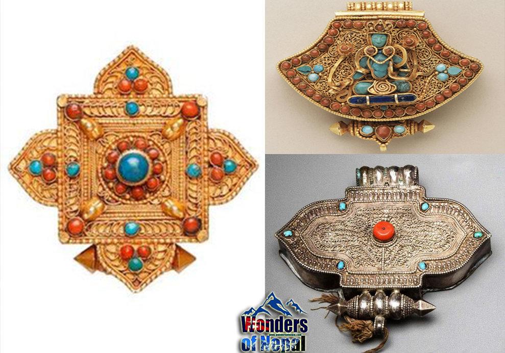 ghau, A traditional Newa Jewelry